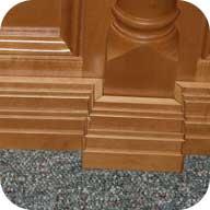 4 inch modern base molding
