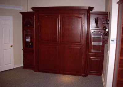 Murphy wall bed closed