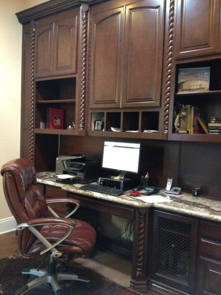 Built in home office cabinets (1)