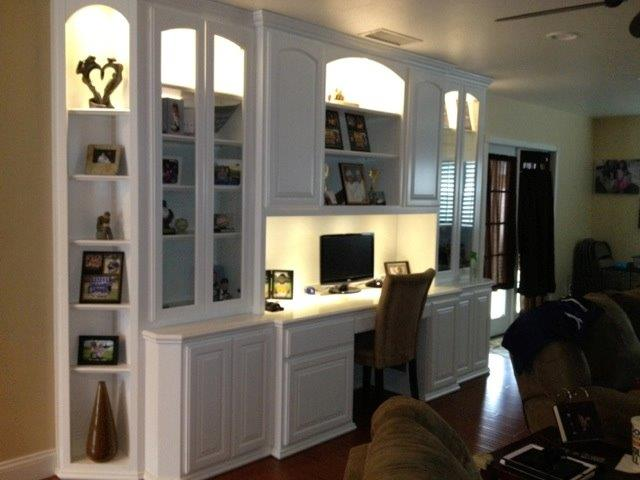 built in home office cabinets for your southern california