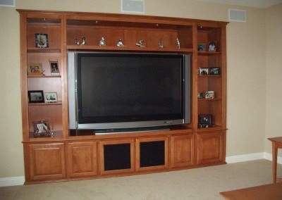 Custom entertainment centers and wall units  (100)