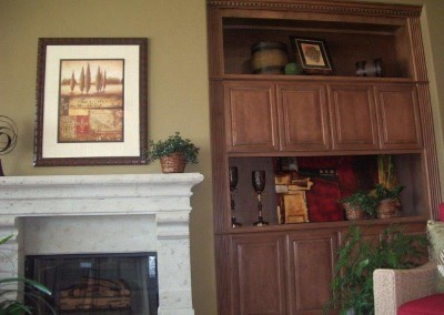 Custom entertainment centers and wall units  (101)
