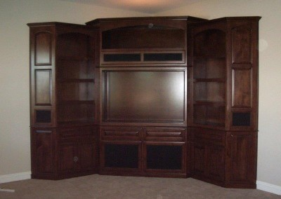 Custom entertainment centers and wall units  (104)