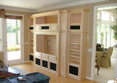 Custom entertainment centers and wall units  (116)