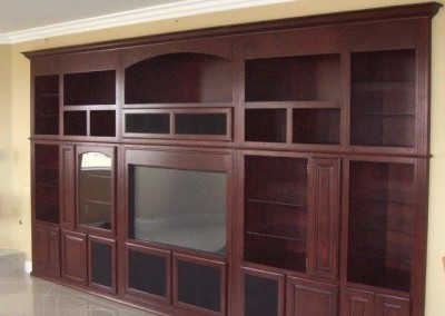 Custom entertainment centers and wall units  (119)