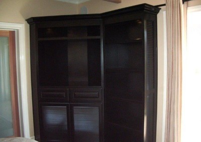 Custom entertainment centers and wall units  (125)