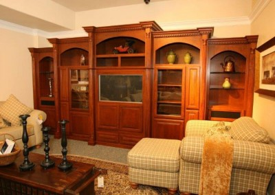 Custom entertainment centers and wall units  (126)