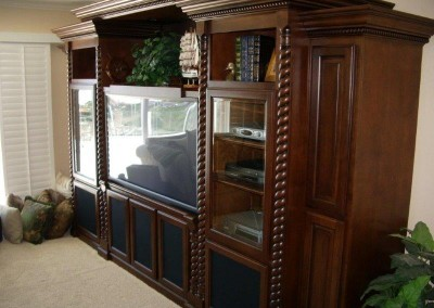 Custom entertainment centers and wall units  (135)