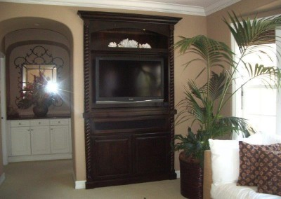 Custom entertainment centers and wall units  (137)