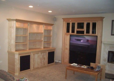 Custom entertainment centers and wall units  (138)