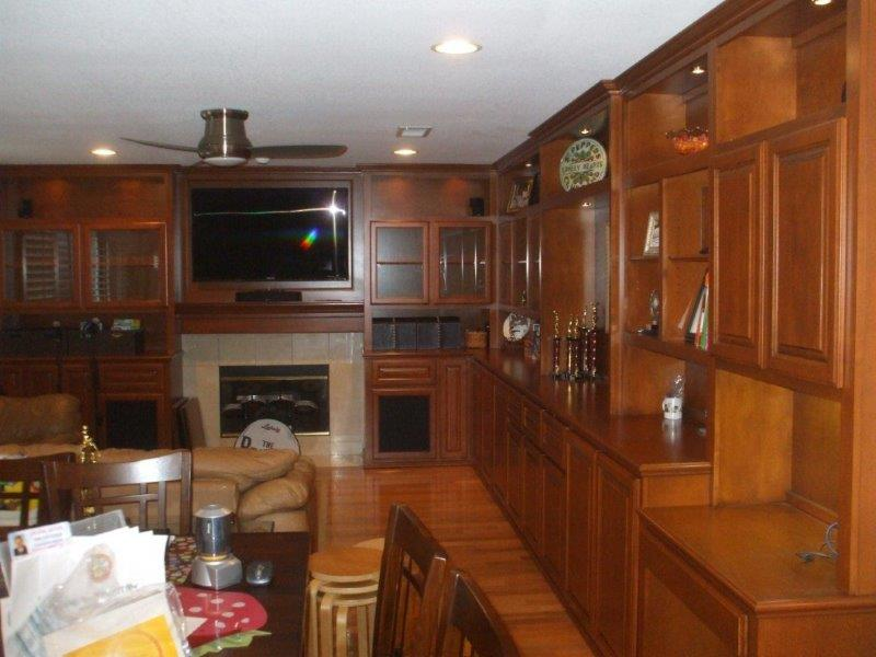 Custom entertainment centers and wall units  (162)