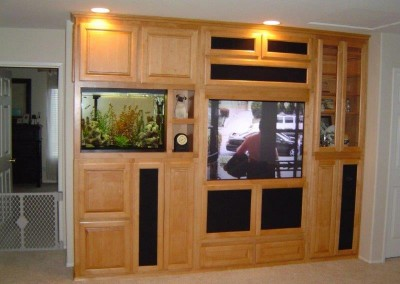 Custom entertainment centers and wall units  (163)