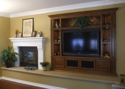Custom entertainment centers and wall units  (187)
