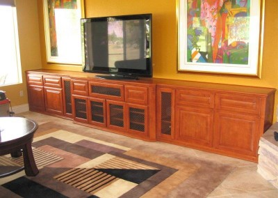 Custom entertainment centers and wall units  (192)