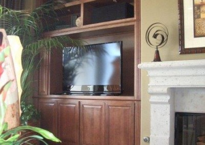 Custom entertainment centers and wall units  (203)