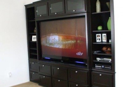Custom entertainment centers and wall units  (24)
