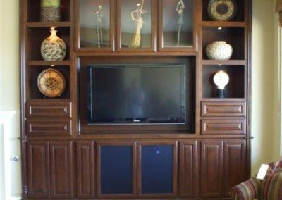 Custom entertainment centers and wall units  (248)