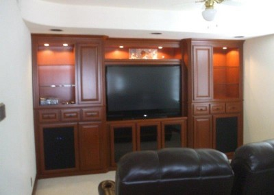 Custom entertainment centers and wall units  (289)