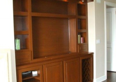 Custom entertainment centers and wall units  (3)