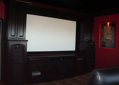 Custom entertainment centers and wall units  (311)