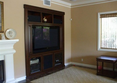 Custom entertainment centers and wall units  (314)