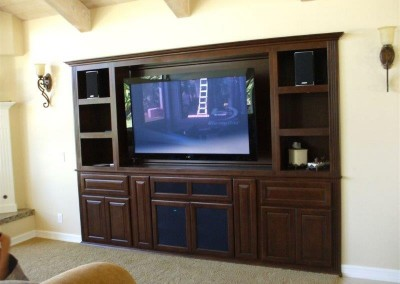 Custom entertainment centers and wall units  (322)