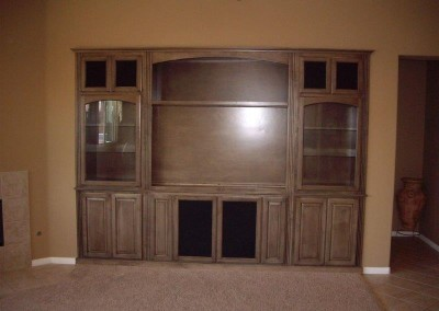 Custom entertainment centers and wall units  (331)