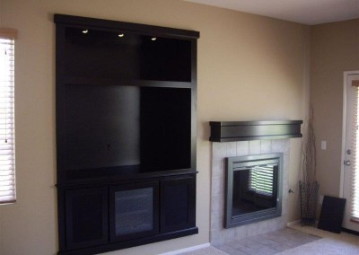 Custom entertainment centers and wall units  (34)