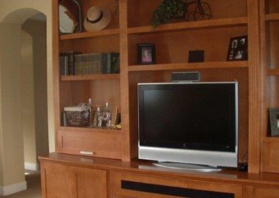 Custom entertainment centers and wall units  (340)