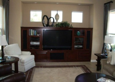 Custom entertainment centers and wall units  (353)