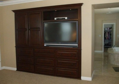Custom entertainment centers and wall units  (362)