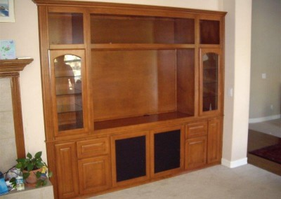 Custom entertainment centers and wall units  (367)