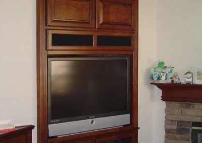 Custom entertainment centers and wall units  (368)