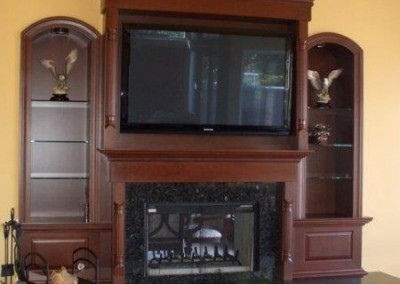Custom entertainment centers and wall units  (375)