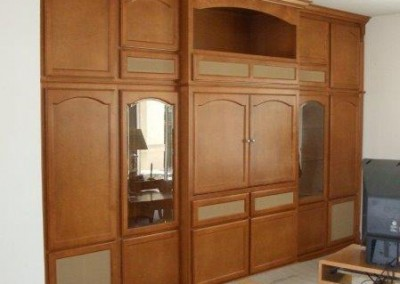 Custom entertainment centers and wall units  (4)