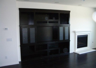 Custom entertainment centers and wall units  (50)