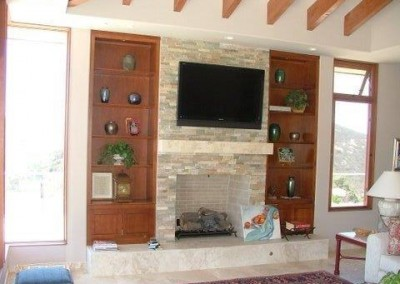 Custom entertainment centers and wall units  (67)