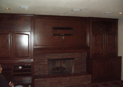Custom entertainment centers and wall units  (78)