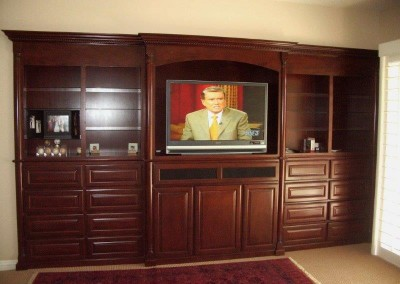Custom entertainment centers and wall units  (89)