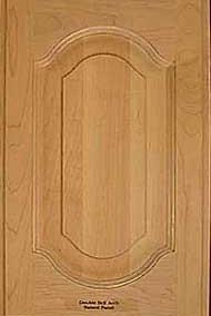 Double bell arch door