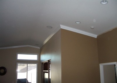 Crown molding in Irvine CA