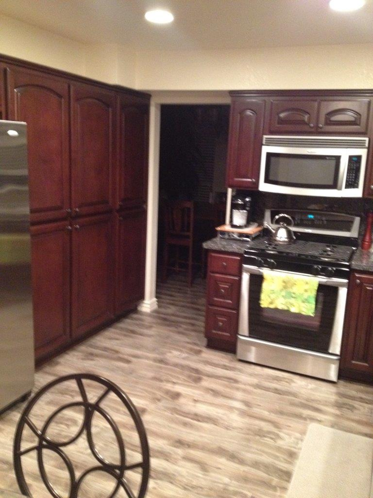 New kitchen cabinets with pantry