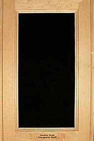 Standard door with speaker mesh