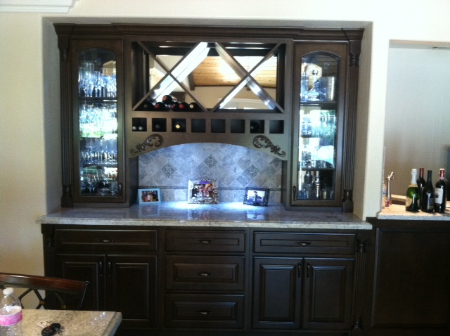 Home bar in Temecula