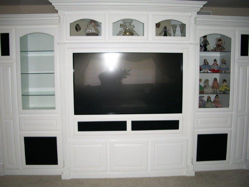 how to make an entertainment unit