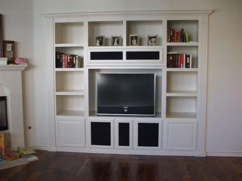 white cabinets for your entertainment center office and kitchen. Black Bedroom Furniture Sets. Home Design Ideas