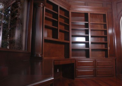 photos of home office cabinets built in desks and bookshelves - Bookshelves And Desk Built In