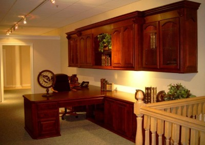 Photos Of Home Office Cabinets, Built In Desks And Bookshelves. Custom  Window Seat And Bookcases · Built In Desk And Home Office ...
