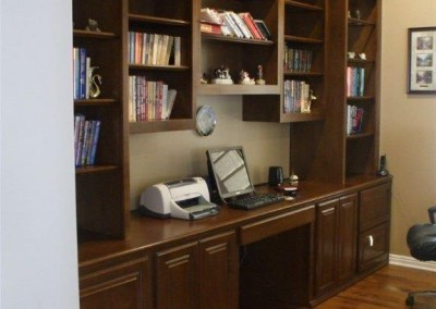 built in home office furniture and desks (50)