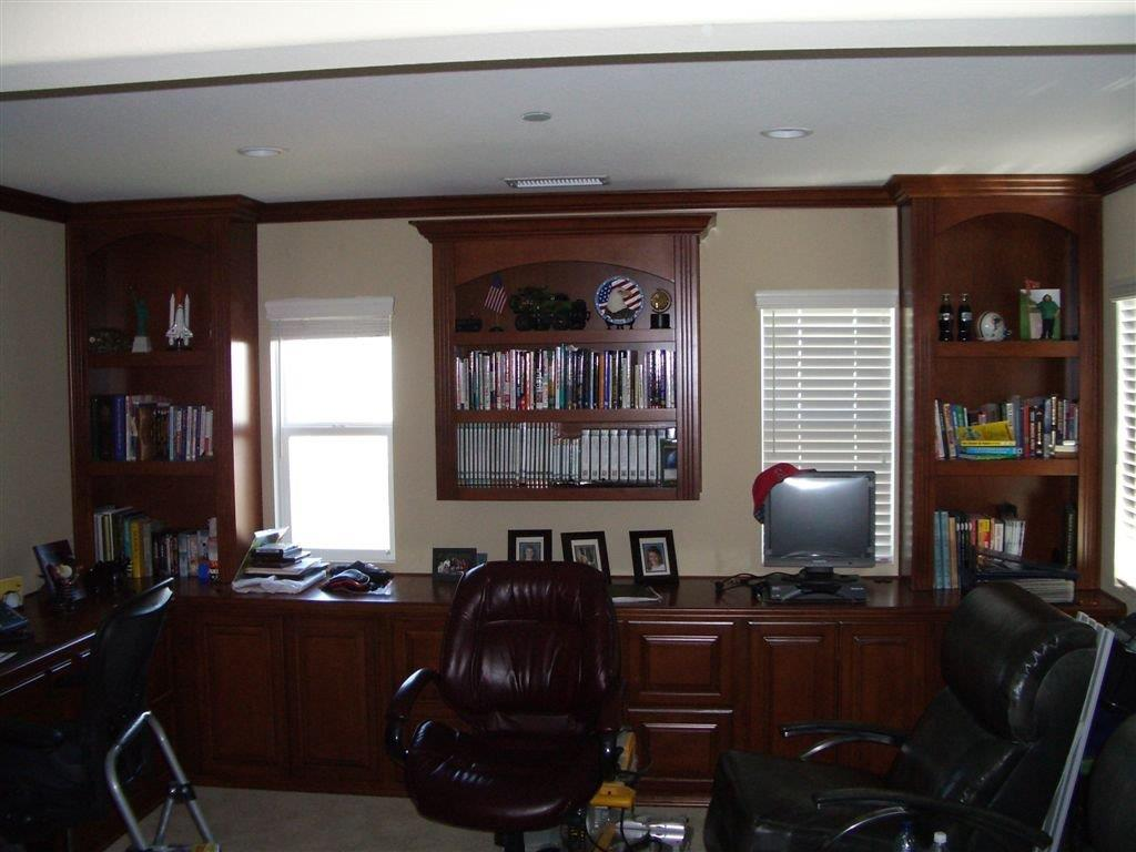 Amazing Custom Home Office Cabinets In Southern California
